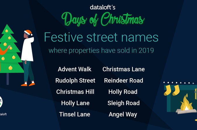 Area Guide Festive Street Names